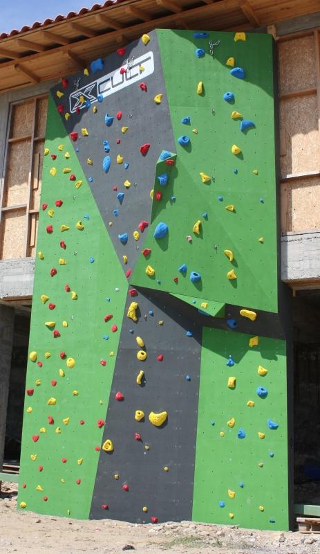 "Climbing wall at ""Aglika Palace"" complex, Bulgaria"